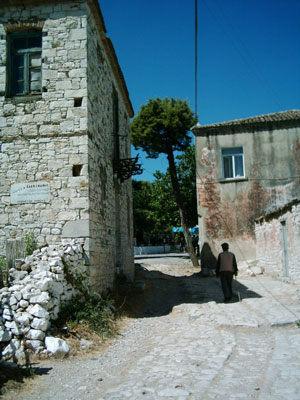 old streets of Akkoy